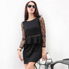 Trendy High Quality Dress black S