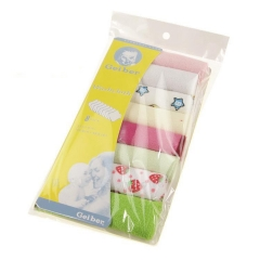 8pcs Baby Soft Bath Towel Washcloth Wipe 23 x 23cm Colorful One size