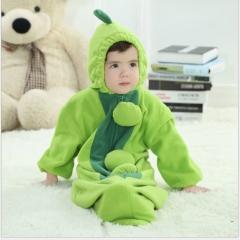 Green Cute Pea Bean Baby Sleeping Bag Swaddle 0-12Months Green 0-12M