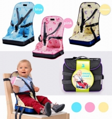 Baby Toddler Travel Dining Feeding High Chair Portable Foldable Booster Seat 3 Colors pink one size