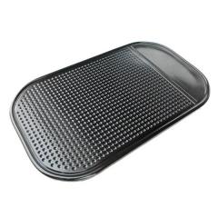 5 pcs Car Mobile Phone Spider Mat Dashboard Antiskid Non Slip Pad Rectangle Black New black one size