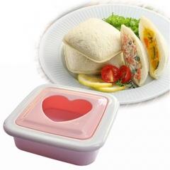 Heart Hearted Shape Sandwich Bread Toast Maker Mold Mould Cutter DIY Tool