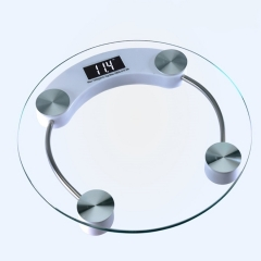 Digital Electronic Glass LCD Weighing Body Scales Bathroom lucid one size