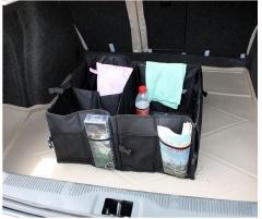 Large Baby Car Seat Boot Storage Organiser Tidy Bag black one size