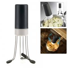 Stir Crazy Automatic Hands Free Sauce Stirrer Electric Blender Mixer black