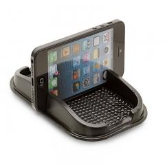 Car Dashboard Anti Slip Sticky Holder Non Slip Mat Pad Mobile Phone Mount Holder black one size