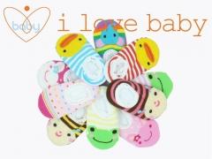 Newborn Baby Infant Toddler Boy Girl Cartoon Non-slip Anti Slip Skid Floor Socks dark pink rabbit one sinze