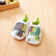 Non-slip Soft Sole Baby Shoes 0-24 Months white 0-6 Months