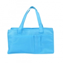Portable Baby Diaper Nappy Changing Organizer Insert Liner Storage Bag Tote blue one size