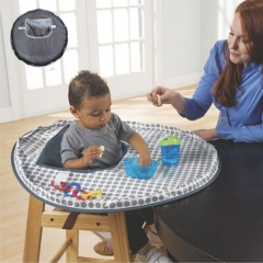 Baby Infant High Chair Seat Cover Mat Waterproof Feeding Eating Place Mat grey one size