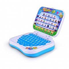 English Chinese Switch Baby Kid Computer Laptop Toy Learning Machine Study Game color random one size