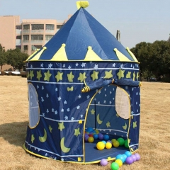 Baby Kids Portable Outdoor Indoor Palace Castle House Play Tent Playhouse colorful one size