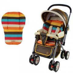 Waterproof Rainbow Baby Outdoor Pram Stroller Soft Cushion Pad Protector Mat color random universal
