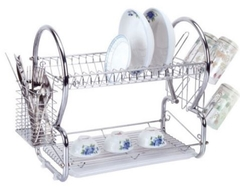 Dish Rack Superb Quality Stainless Steel 2 Tier Kitchen Must Have