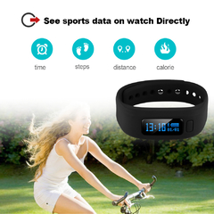 Excelvan Smart Bracelet Bluetooth V4.0 for Android IOS