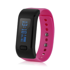 Smart Bracelet Waterproof for Android IOS Red