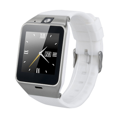 NFC Bluetooth Smart Watch with Camera Unlocked SIM phone mate for Android IOS White