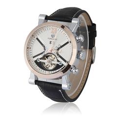 Men Auto Mechanical Watch Gift for Boyfriend Father Friends Gold