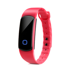 Smart Bracelet Bluetooth Waterproof for Android IOS Pink