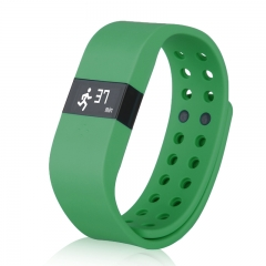 Waterproof Touch Screen Bluetooth Smart Bracelet Wristband for Android Green