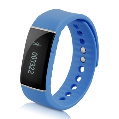 DIGGRO Smart Bracelet Waterproof Smart Wristband for Android IOS Blue