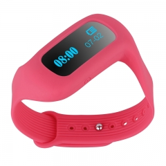 DIGGRO Smart Bracelet Bluetooth Wristband for Android IOS Red