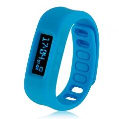 Smart Bracelet Bluetooth V2.1 for Android Blue