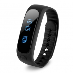 Smart Bracelet Bluetooth Waterproof for Android and IOS Black