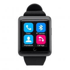 Excelvan Bluetooth Smart Watch GSM Watch for Android IOS Black