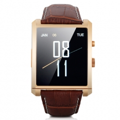 Diggro Bluetooth Smart Watch for Android and IOS with Camera Gold