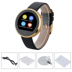 Bluetooth Smart Watch for Android and IOS Gold