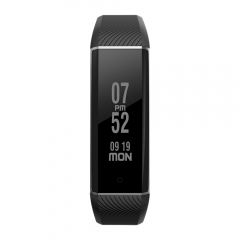 Zeblaze ZeBand Heart Rate Monitor Smart Wristband with 15m Bluetooth Connected Distance black one size