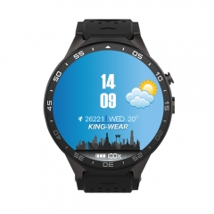KingWear KW88 Android 5.1 1.39 inch Amoled Screen 3G Smartwatch Phone 512MB RAM 4GB ROM black one size
