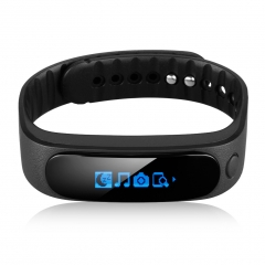 DIGGRO BRAND Smart Bracelet Bluetooth Waterproof for Android and IOS Black