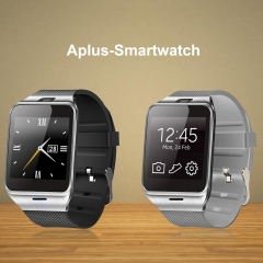 NFC Smart Watch with Camera SIM for Android Black One Size