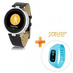 DIGGRO S365 Bluetooth Smart Watch Smartphone Mate Siri Call Music Reminder & Sleep Monitor Sliver One size