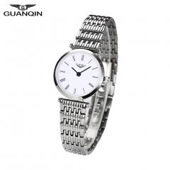 GUANQIN Quartz Women Full Stainless Steel Wristwatch Gift for Girlfriend Mother Friends 1