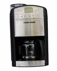Black & Decker Programmable Coffee Maker with Grinder