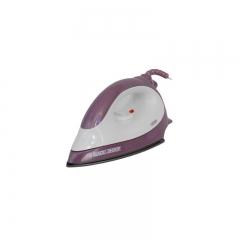 Black & Decker  1300-Watt Dry Iron F1500 - White and Purple