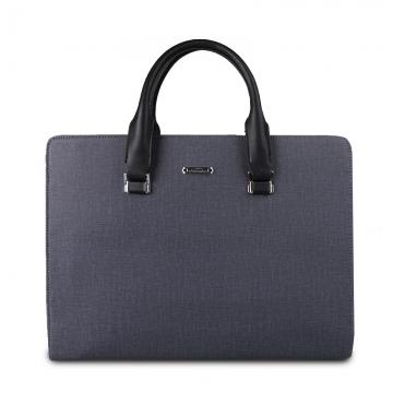Hot sell new arrival luxury designer leather men handbag bag,classic men's travel bags,messenger Blue 39X29X8