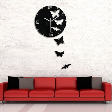 Ultra Modern Decorative Wall Clock - 3D T5430