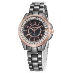 Shining Diamonds Ladies Wrist Watch