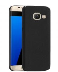 "Samsung Galaxy J7 Prime 5.5"" Back Cover - Black With Matt Finish black 5.5"