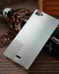 INFINIX Zero 3 (X552) Back Cover - silver With Metallic Finish silver 5.5