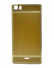 INFINIX Zero 3 (X552) Back Cover - Gold With Leather Finish gold 5.5