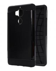 INFINIX Zero 4 Plus (X602) Back Cover - Black With PC Finish black 5.5