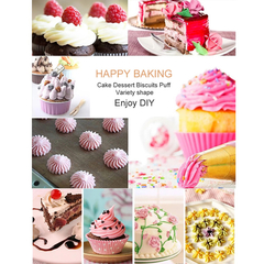 Cookie Tools Cake Decorating Set--24 pcs Silver One Size
