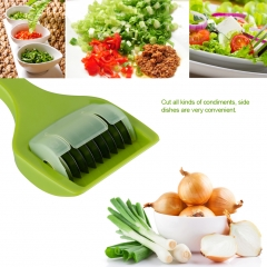 Multifunctional Creative Kitchen Gadget Fruit and Vegetable Chopper White One Size
