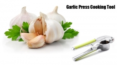 Garlic Press Cooking Fruit Vegetables Slicer Cutter Tools Kitchen Accessories Apple Green One Size