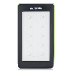 suaoki Outdoor Portable Solar Led Rechargeable Camping Lantern Green One size